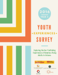 2016 Youth Experiences Survey report cover