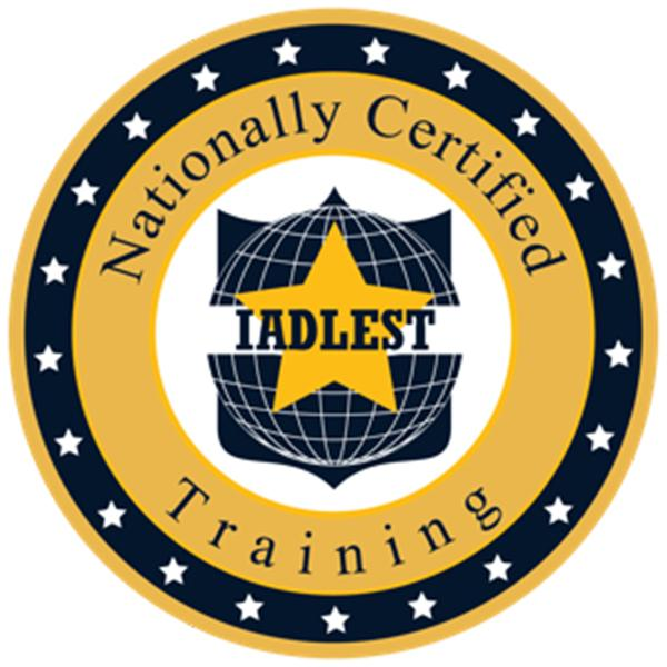 nationally certified training badge from IADLEST