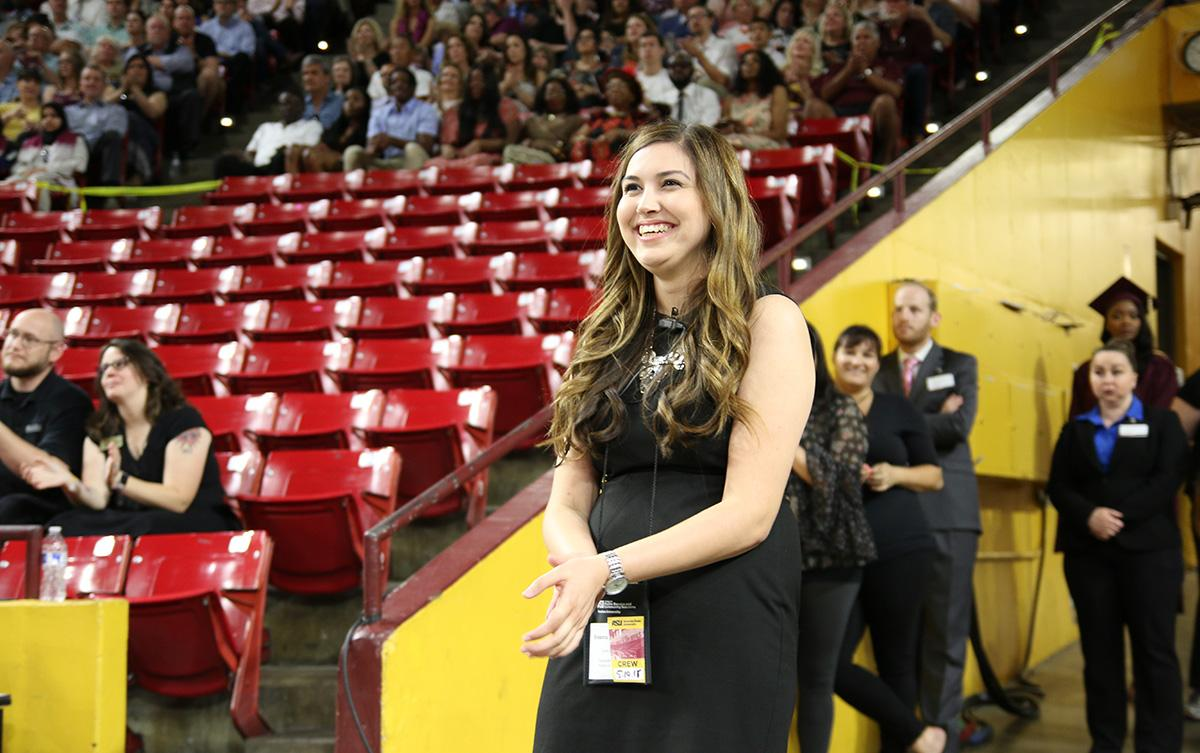 Breanna Carpenter at Wells Fargo Arena