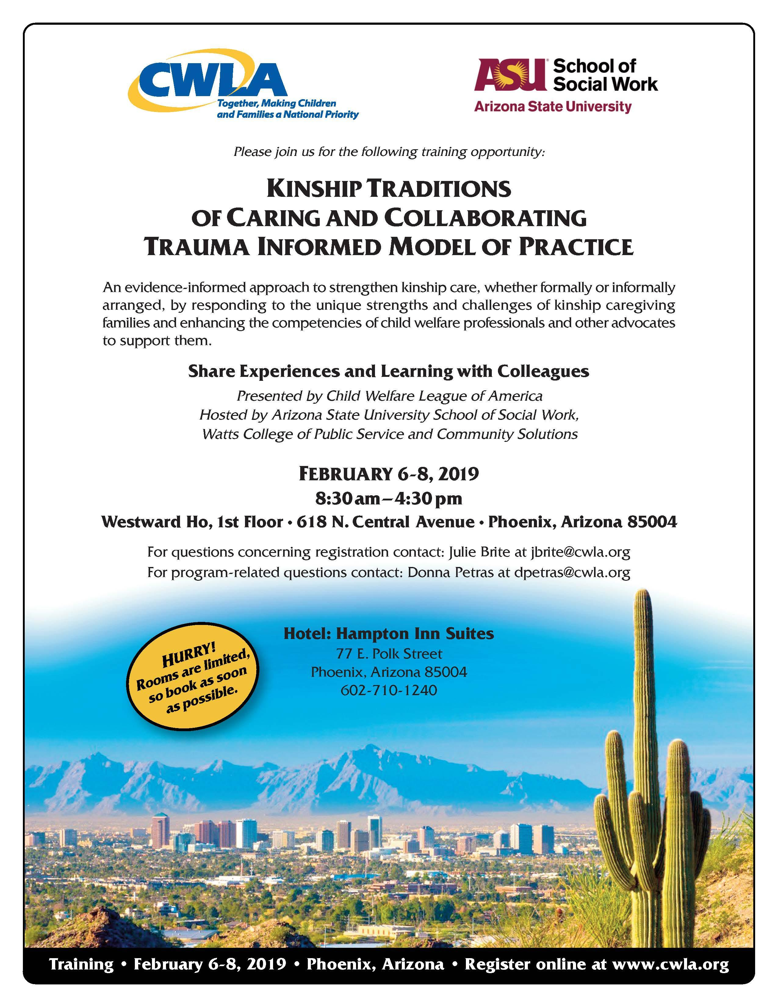 Kinship Care Training Conference | School of Social Work