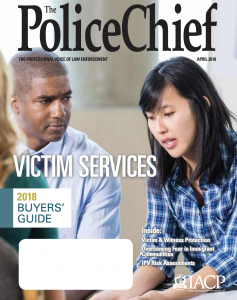 Cover of The Police Chief magazine
